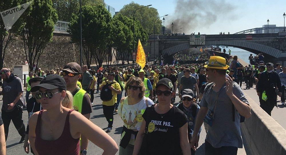 Acte 23 des Gilets jaunes, le 20 avril 2019