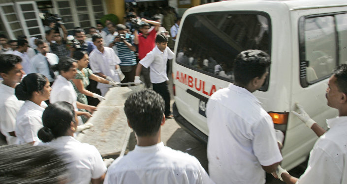 Ambulance au Sri Lanka