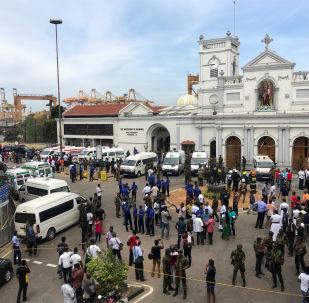 Sanctuaire Saint-Antoine à Colombo