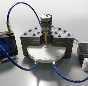 Un prototype d'un réfrigérateur magnétique