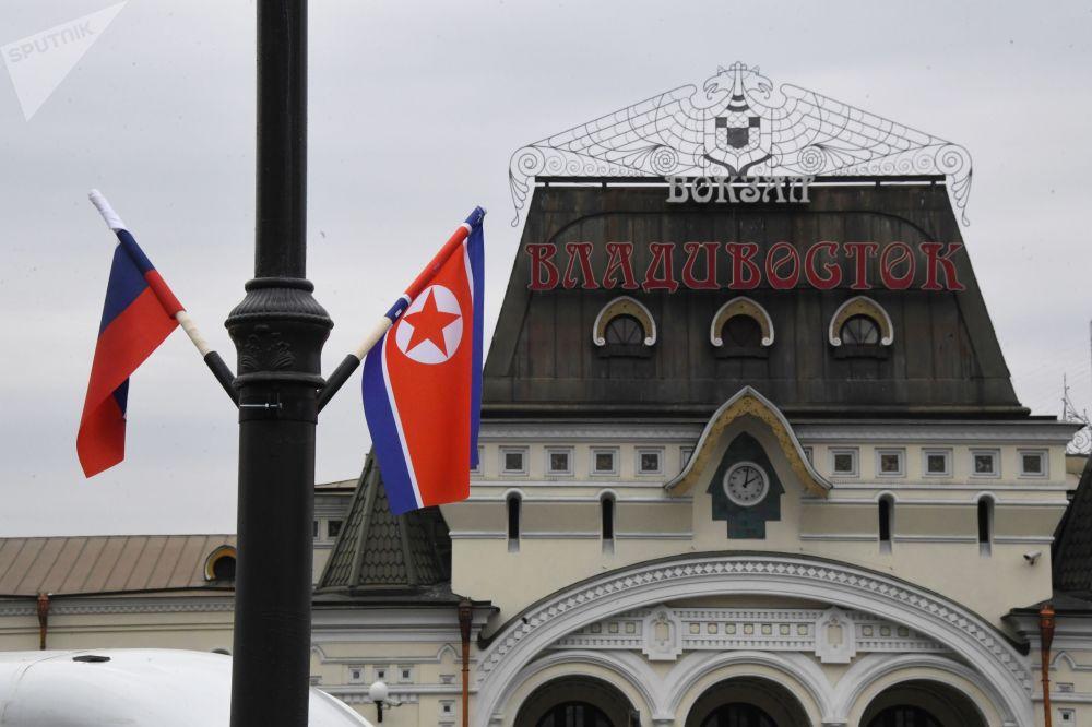 Première visite du dirigeant nord-coréen Kim Jong-un en Russie