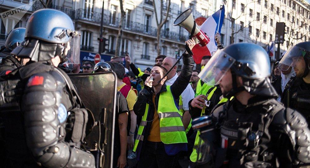 Gilets jaunes à Paris