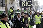 Mobilisation de Gilets jaunes à Paris