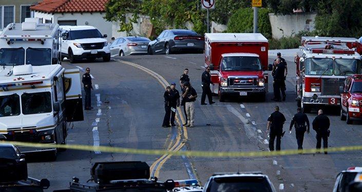 La police en Californie (image d'illustration)