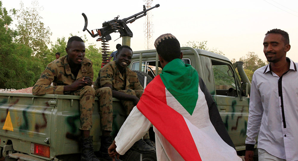 Militaires soudanais