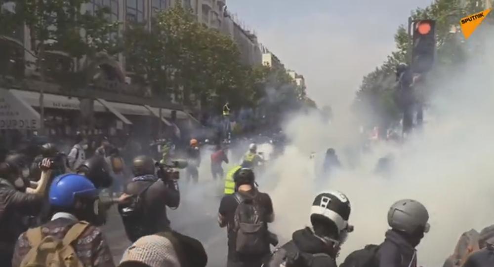 1 er  mai: forte mobilisation en France et violences contenues à Paris