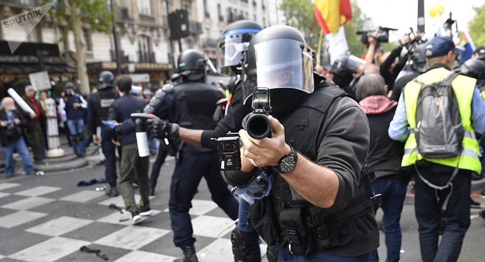 Manifestation du 1er mai à Paris