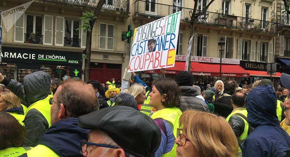 Acte 25 des Gilets jaunes, Gare du Nord