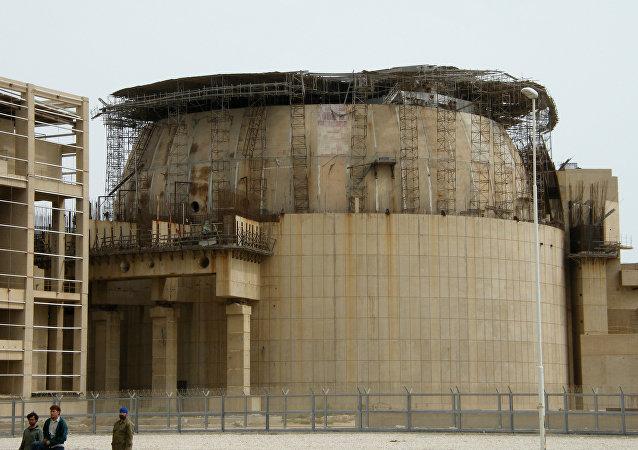 La centrale nucléaire à Bouchehr