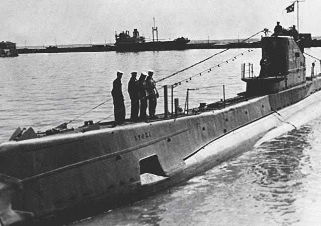 Un sous-marin soviétique de classe Chtchouka