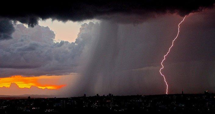 Une tempête (image d'illustration)