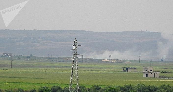 Frappes aériennes dans la région de Hama