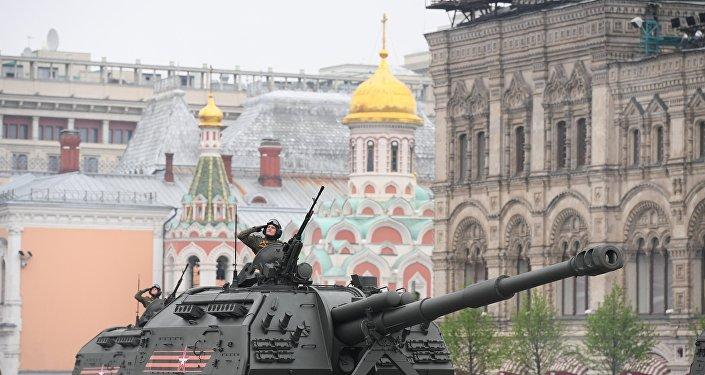 des canons automoteurs Msta-S