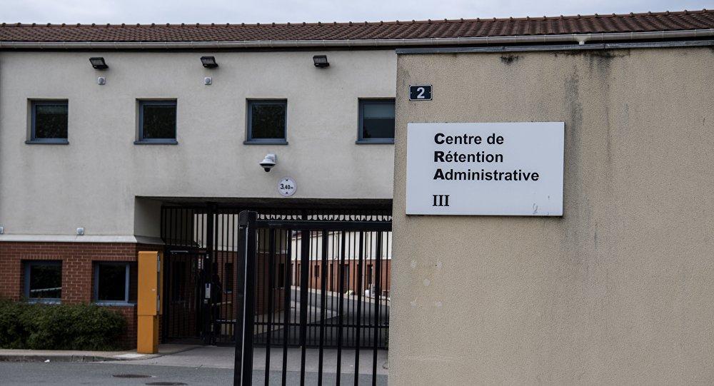 Un centre de rétention administrative