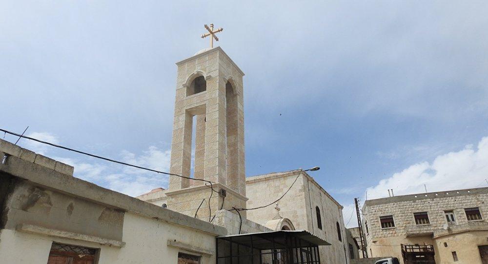 Une église à al-Suqaylabiyya