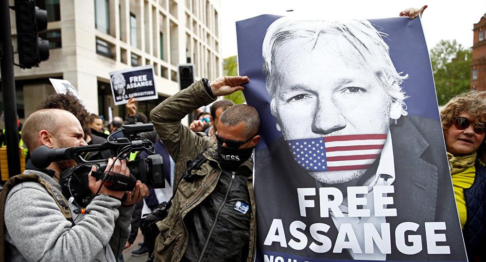 Rédacteur en chef de WikiLeaks: «La justice a disparu depuis longtemps» pour Assange