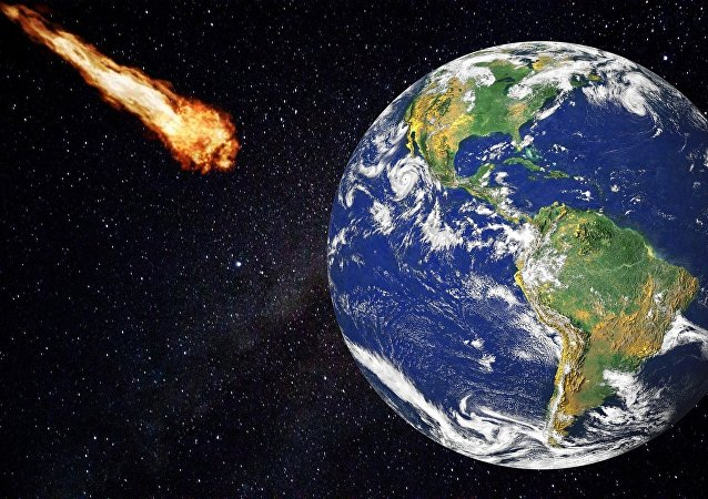 astéroïde, image d'illustration