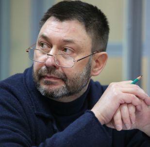 Le journaliste et directeur de RIA Novosti Ukraine Kirill Vychinski