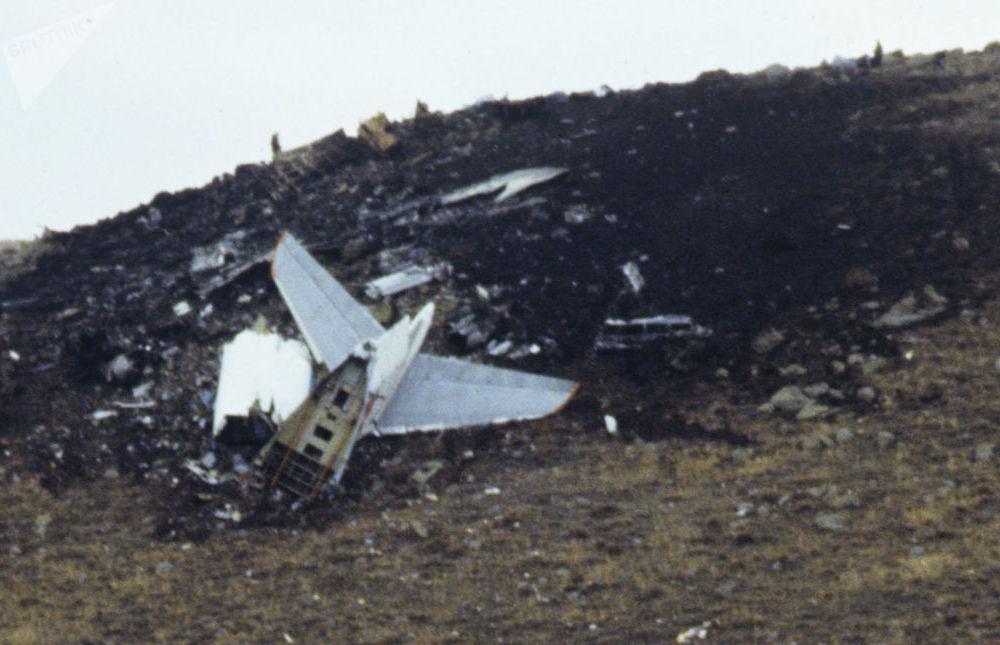 Crash de l'avion de transport militaire Iliouchine Il-76 près de Leninakan, le 11 décembre 1988