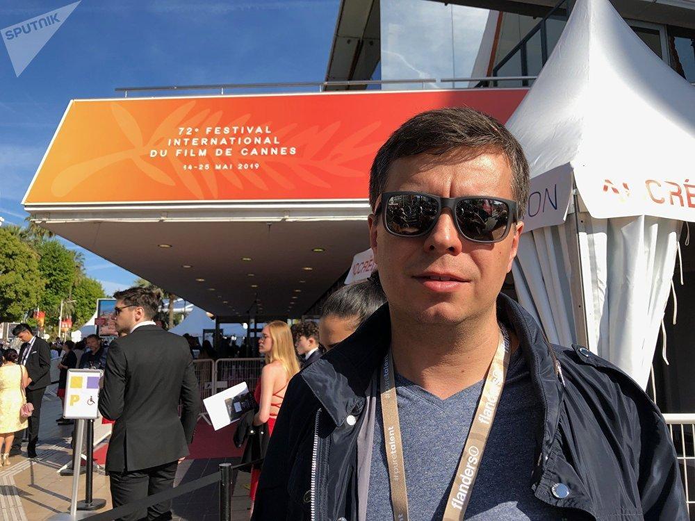 """Pour Artem Vitkine, Directeur général du """"Revoluzzia Film"""", la participation au Producers Network à Cannes est une possibilité de donner un coup de pouce au projet"""