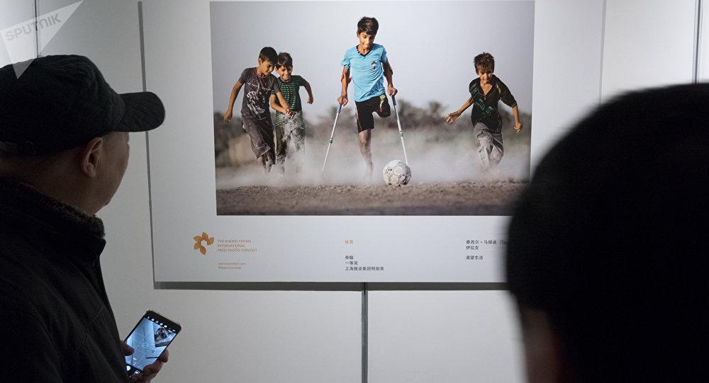 La photo qui a remporté l'or au concours Andréï Sténine dans la catégorie Sport