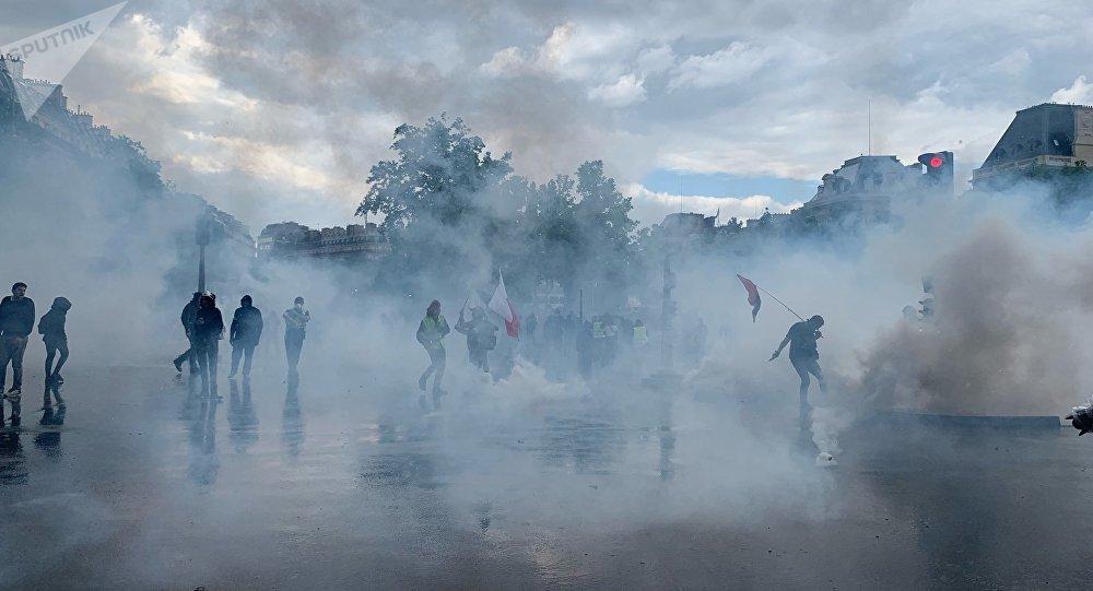 7000 manifestants selon l'Intérieur, mobilisation en baisse — Gilets jaunes