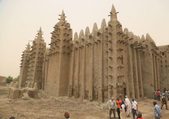 La Mosquée de Djenné, au Mali, le 28 avril 2019.  UNESCO