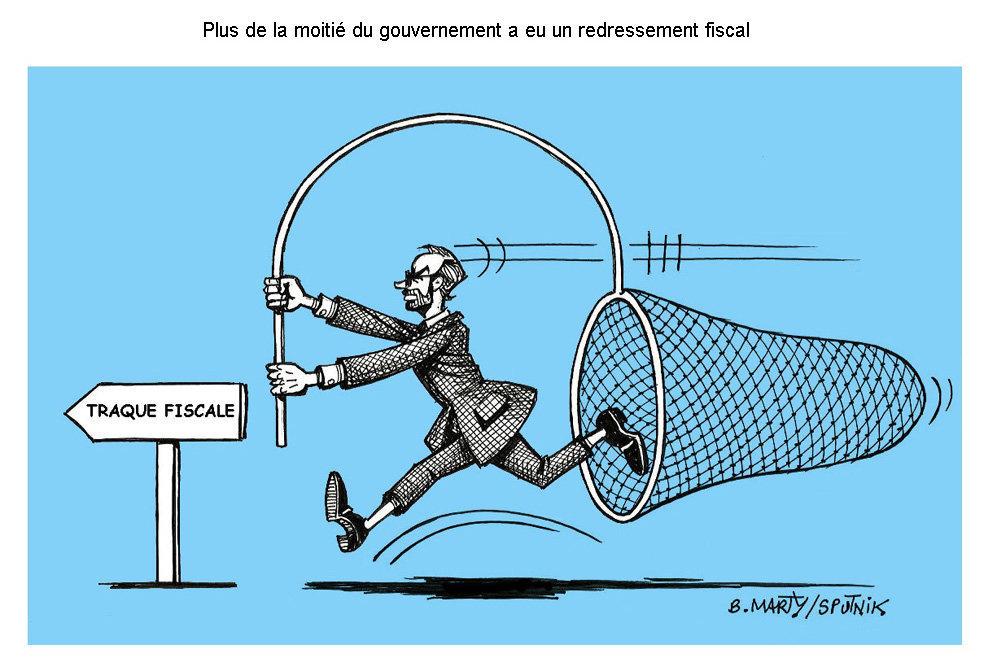 Plus de la moitié du gouvernement a eu un redressement fiscal