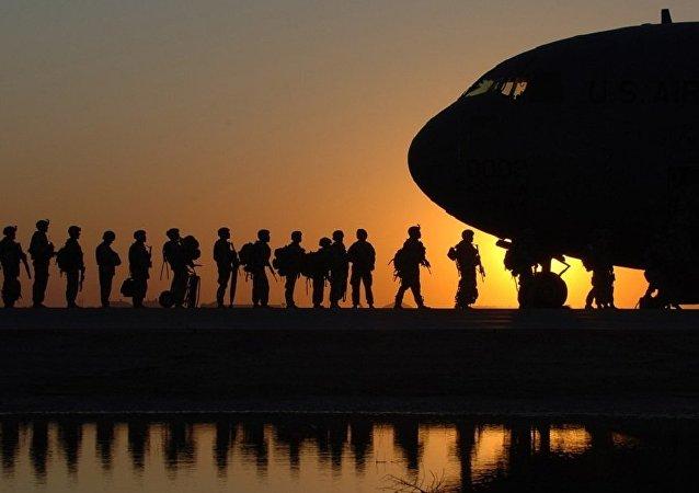 Armée américaine, image d'illustration
