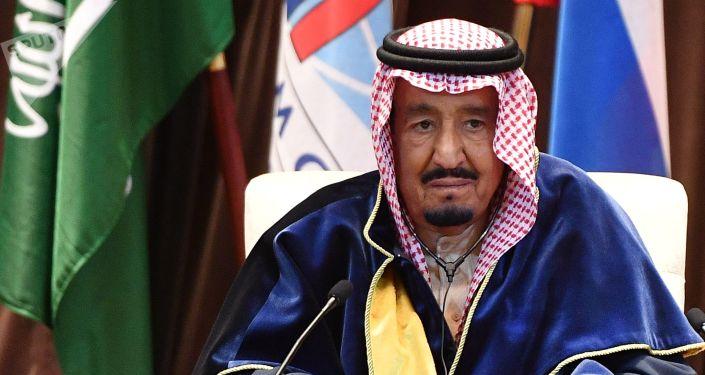 Le roi de l'Arabie Saoudite Salmane ben Abdelaziz Al Saoud