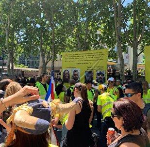 Manifestation des Gilets jaunes à Paris, archives