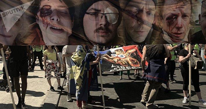 La marche des Gilets jaunes blessés à Paris