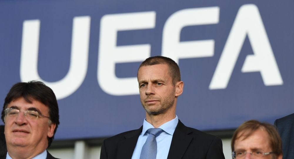 Aleksander Ceferin, le président de l'UEFA