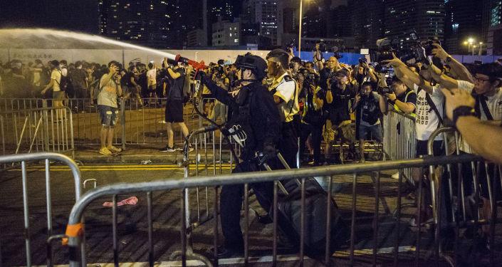 Manifestation contre la loi sur l'extradition à Hong Kong (9 juin 2019)