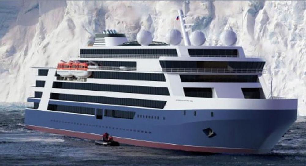 Projet d'un navire de croisière arctique russe