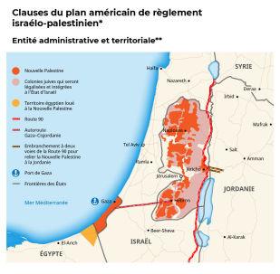 Le «deal du siècle». Les détails du plan américain pour le règlement du conflit israélo-palestinien