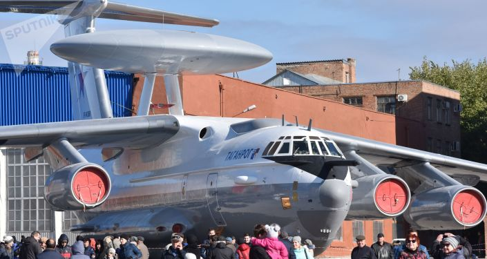 Un avion-radar A-50 (archive photo)