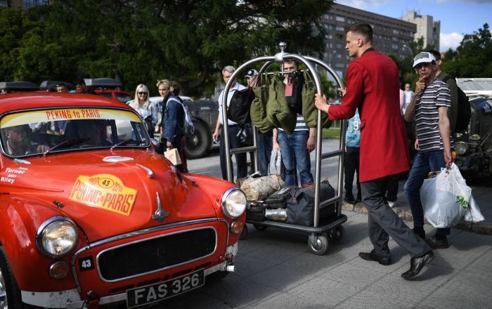 Rallye de véhicules anciens Pékin-Paris 2019