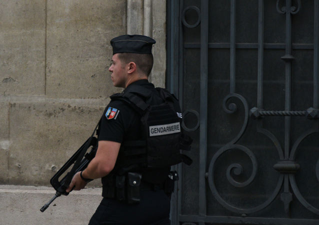 Un gendarme à Paris