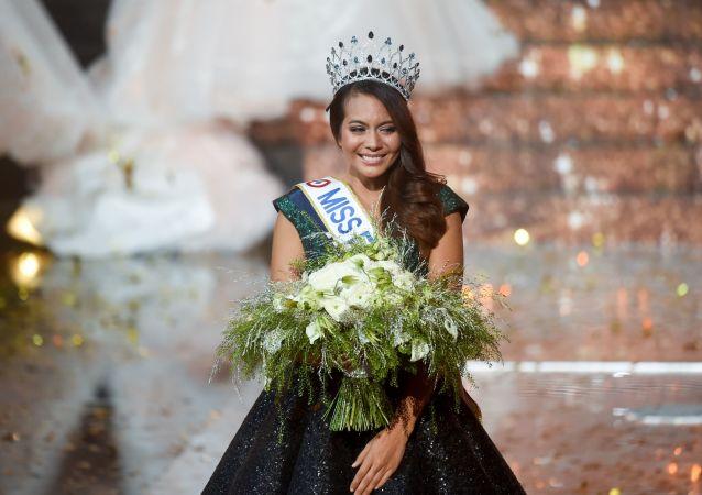 Vaimalama Chaves, Miss France 2019