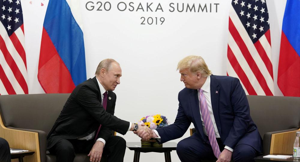 Vladimir Poutine et Donald Trump au sommet du G20 à Osaka