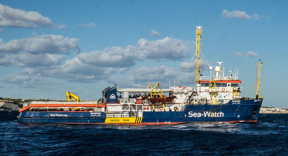 Le navire Sea-Watch