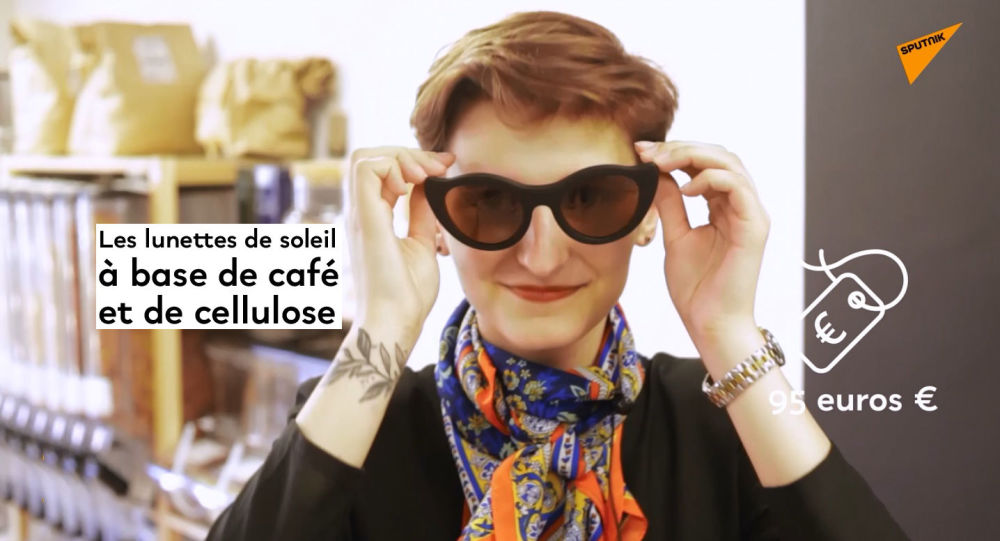 Les lunettes à base de café et de cellulose