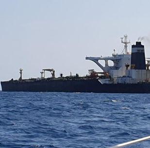 Grace 1, un pétrolier battant pavillon panaméen