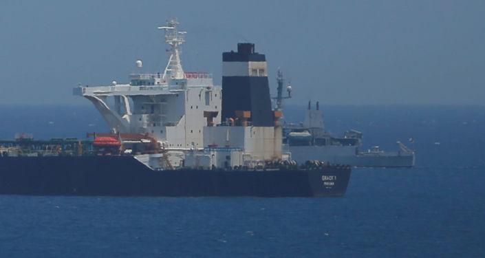 le pétrolier iranien saisi à Gibraltar