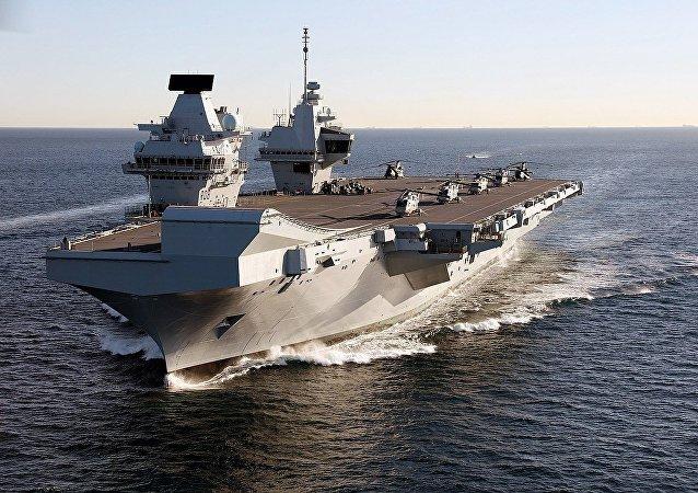 Porte-avions britannique HMS Queen Elizabeth (archive photo)