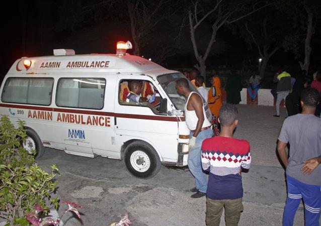 Ambulance en Somalie