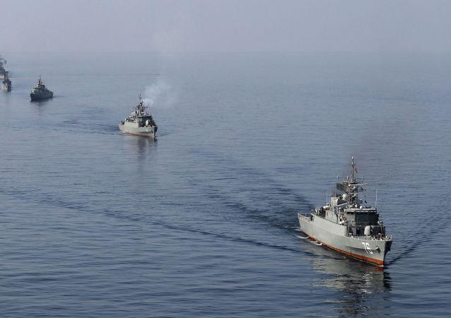 Navires militaires iraniens