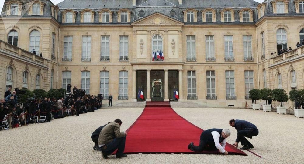 Palais de l'Élysée (images d'archives)
