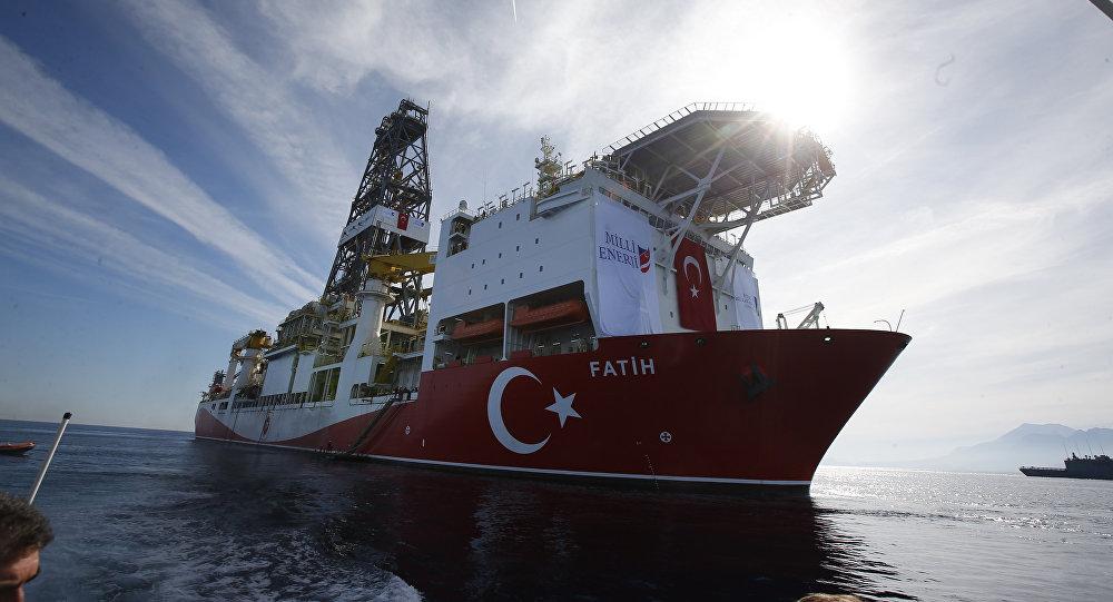 Le nouveau navire de forage turc 'Conqueror'
